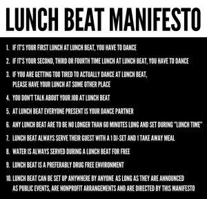 lunch-beat-manifesto