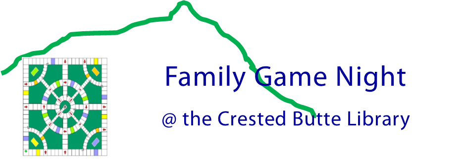 Family Game Night at the Crested Butte Library