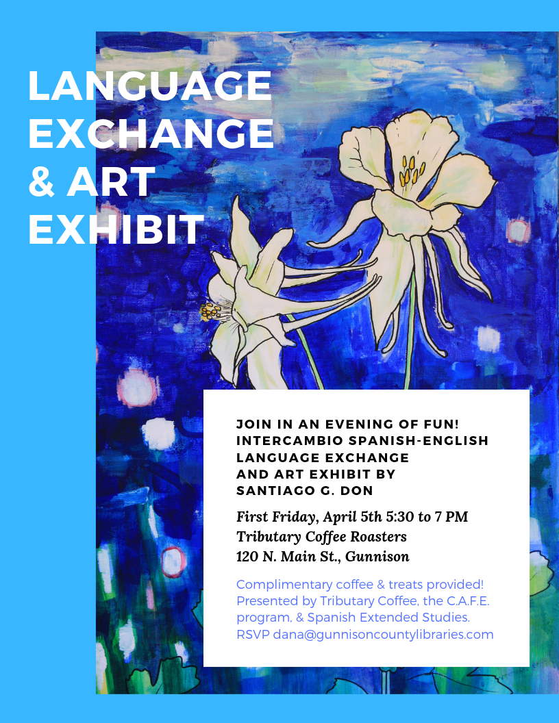 Flyer describing event, see event posting for full details